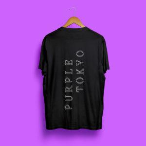 Black T Shirt back side